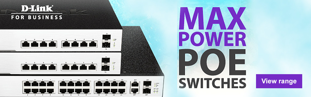 D-Link Max Power PoE Switches