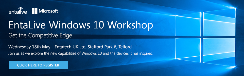 Entalive Microsoft Windows 10 Workshops