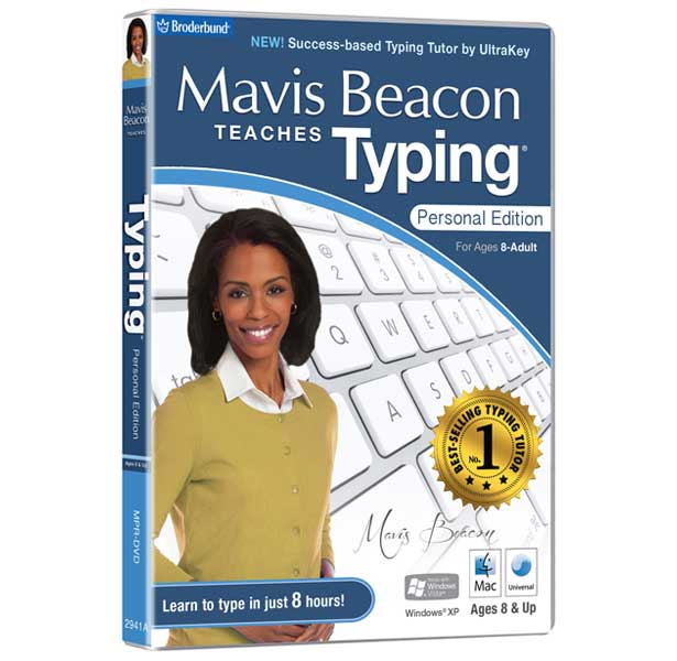 MPR-DVD Avanquest Mavis Beacon Teaches Typing Personal Edition Mac - Ent01