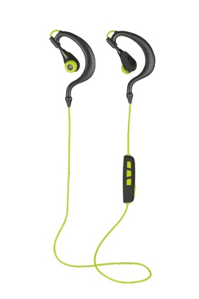 20890 Urban Revolt 20890 Ear-hook, In-ear Binaural Wireless Black, Lime mobile headset - Ent01