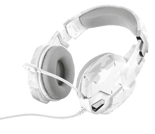 20864 Trust GXT 322W Binaural Head-band White headset - Ent01