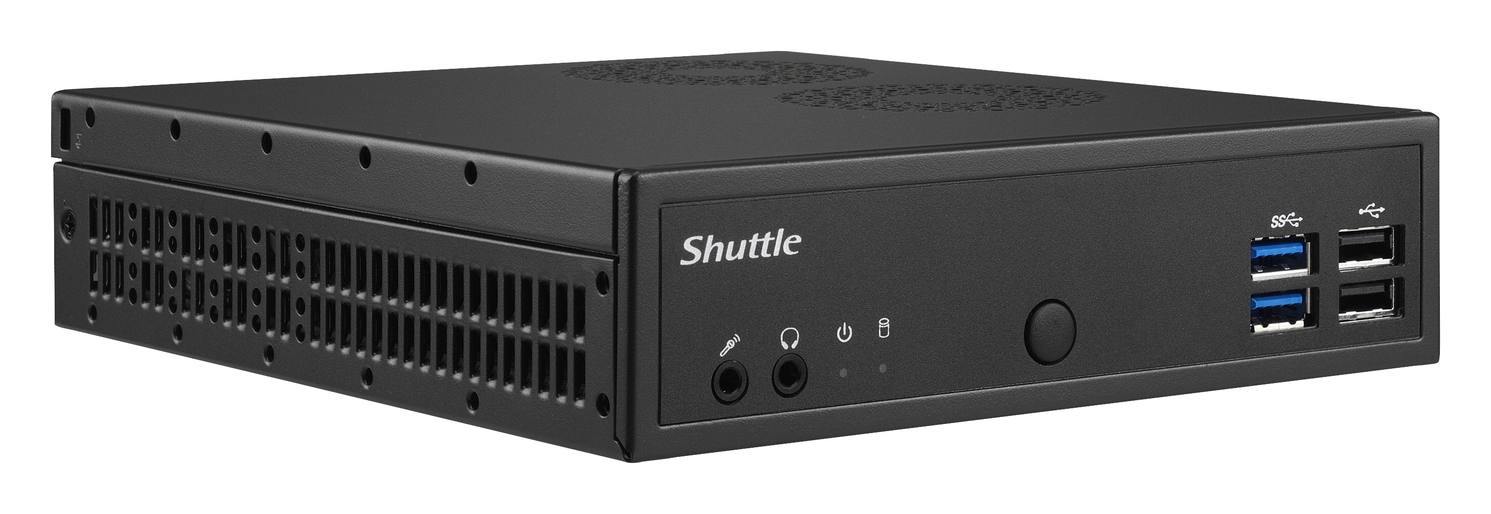 DH02U5 Shuttle XP? slim DH02U5 BGA 1356 2.5GHz i5-7200U Black PC/workstation barebone - Ent01