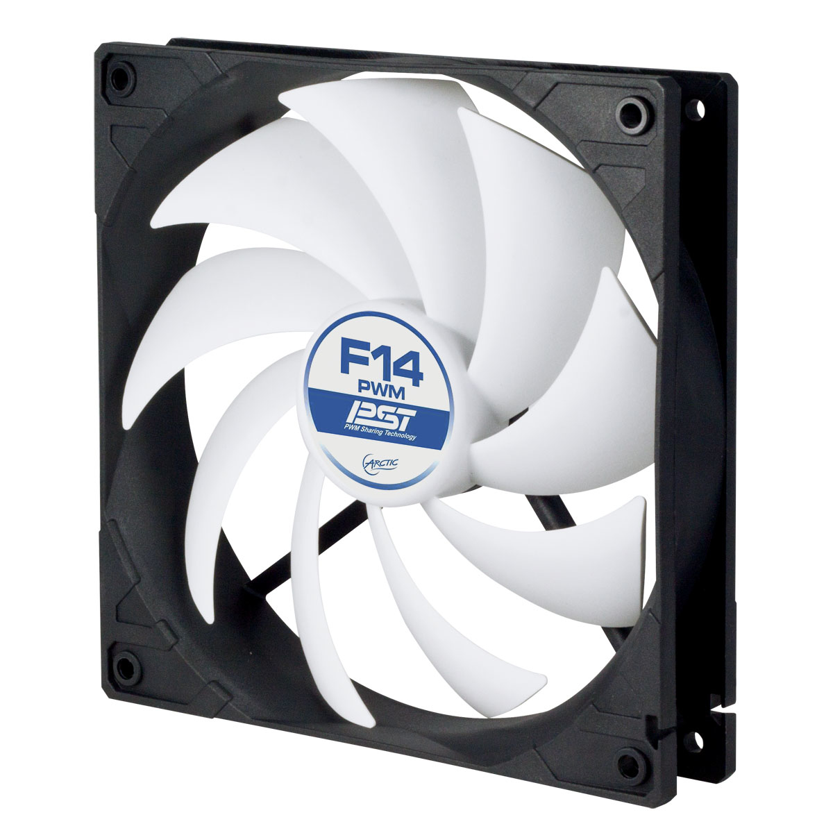 ACFAN00079A ARCTIC F14 PWM PST 4-Pin PWM fan with standard case - Ent01