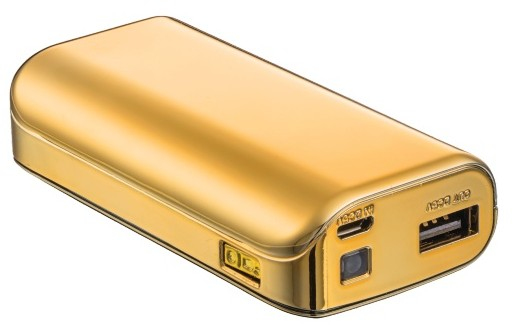 20901 Trust 4400 4400mAh Gold power bank - Ent01