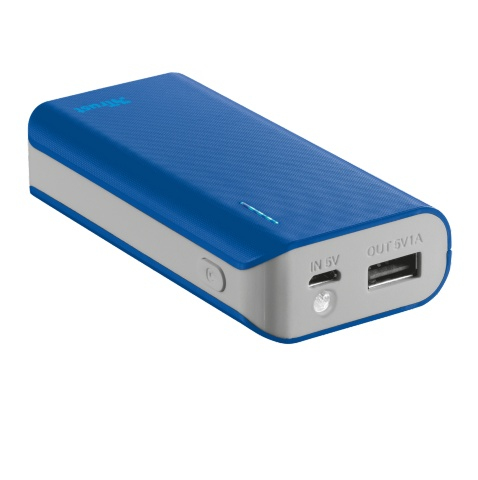 21225 Trust Primo 4400 4400mAh Blue power bank - Ent01