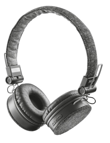21488 Trust Fyber Binaural Head-band Grey - Ent01