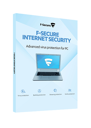 FCIPOE1N001G2 F-SECURE Internet Security Full license 1 year(s) Multilingual - Ent01