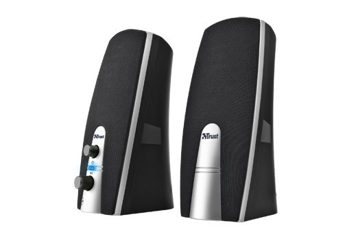 16697 Trust MiLa 2.0 Speaker Set loudspeaker 5 W Black,Silver Wired - Ent01