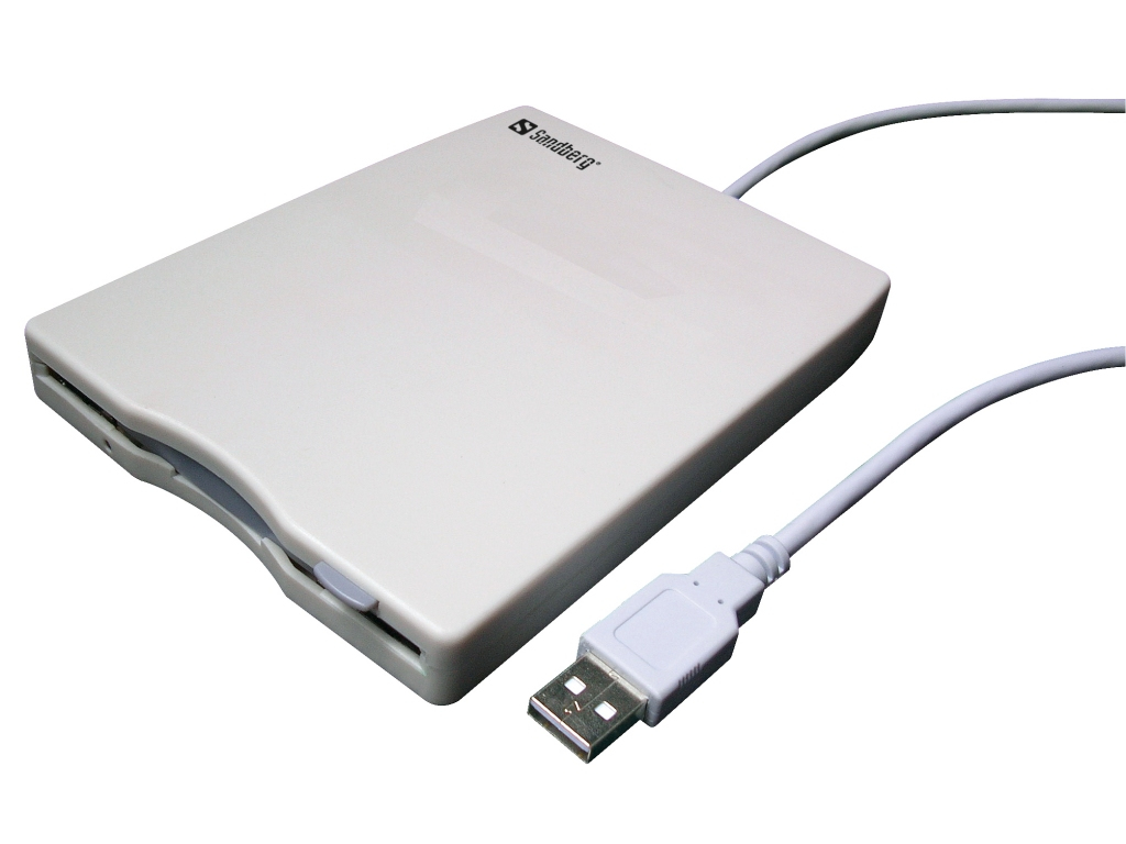 133-50 Sandberg USB Floppy Mini Reader - Ent01