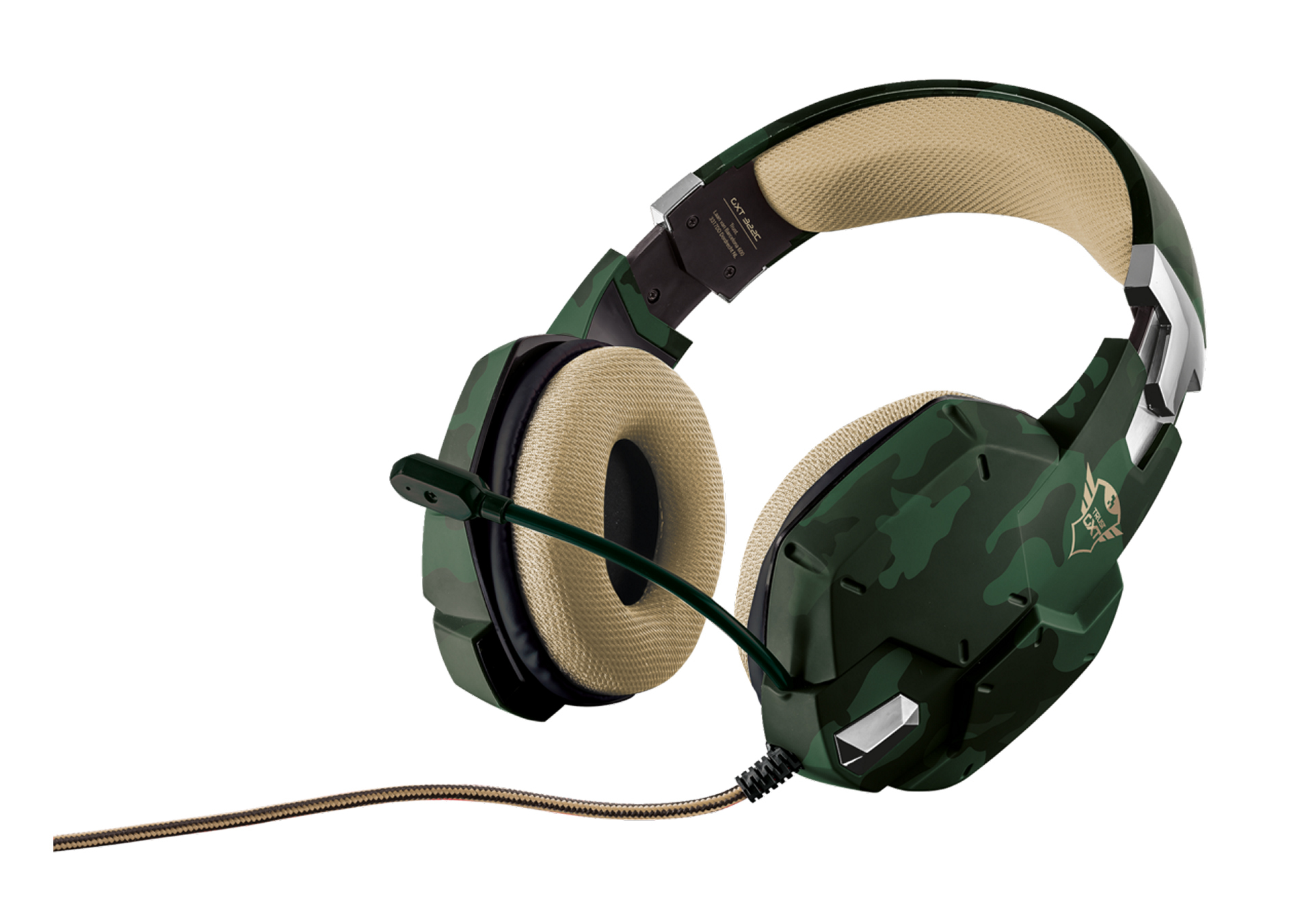 20865 Trust GXT 322C Binaural Head-band Green headset - Ent01