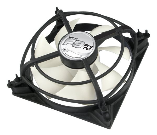 AFACO-09PT0-GBA01 ARCTIC F9 Pro TC - Temperature Controlled Case Fan with Vibration Absorption - Ent01