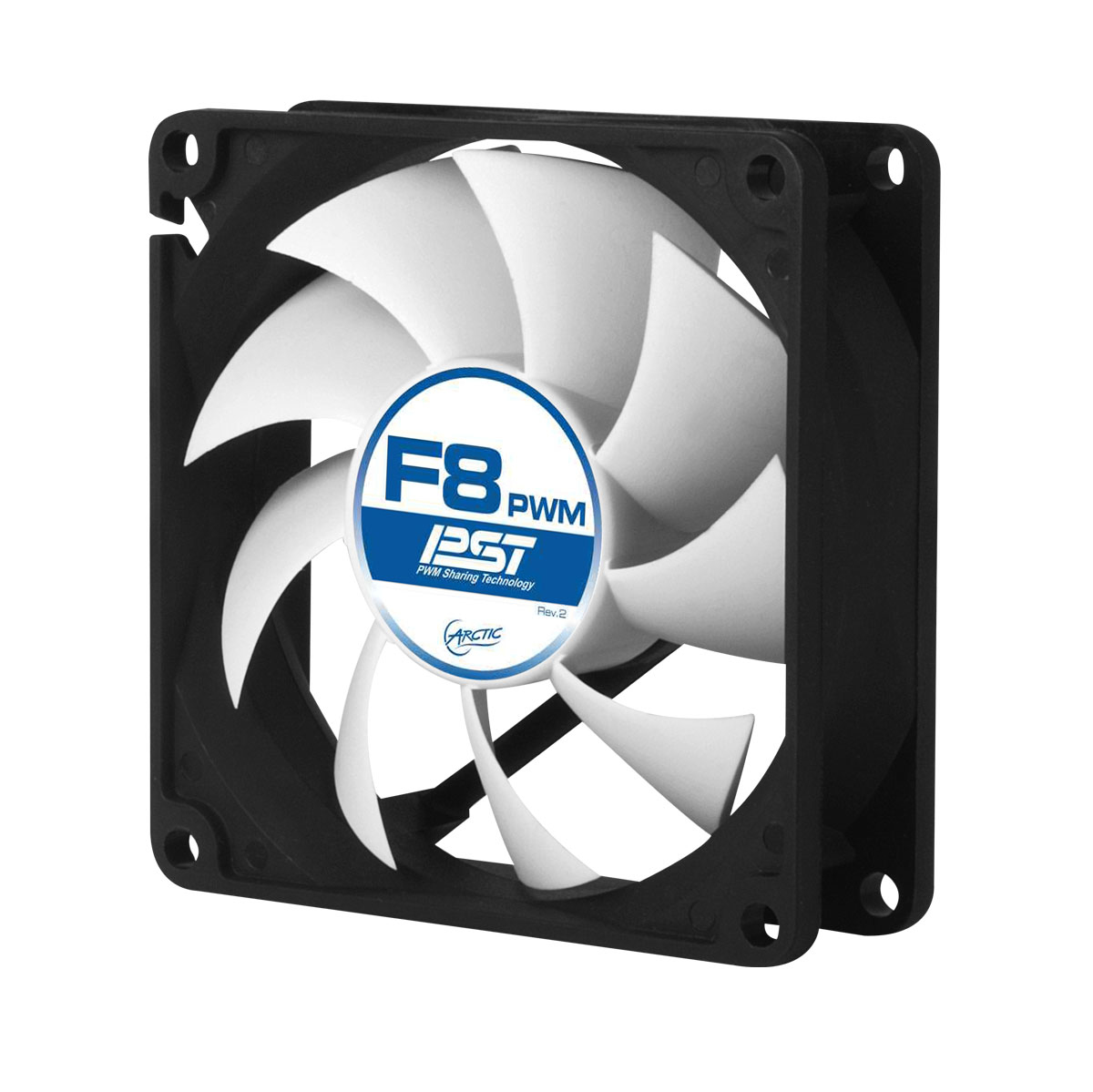 AFACO-080P0-GBA01 ARCTIC F8 PWM PST 4-Pin PWM fan with standard case - Ent01