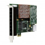 8PT ANALOG CARD PCIE X1 NO INTERFACES