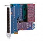 Eight Port Hybrid PCI-Express x1 card with 4 BRI i