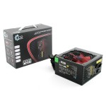 ACE 500W BR Black PSU with 12cm Red Fan & PFC -