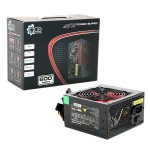ACE 600W BR Black PSU with 12cm Red Fan & PFC