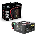 ACE 650W BR Black PSU with 12cm Red Fan & PFC