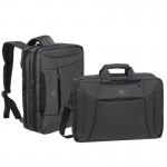 8290 CHARCOAL blk conv NB backpack 16 IN