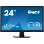 "PROLITE 24"" BLACK LED HDMI MONITOR"