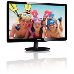 "Philips 19.5"", LED, VGA, DVI-D, Speakers, Tilt"