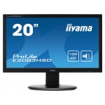 "19.5"" Wide LED LCD Black"