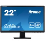 "PROLITE E2283HS-B1 22"" Black LED LCD"