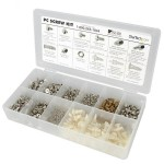 ASSORTMENT OF SCREWS, NUTS AND STANDOFFS