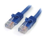 1 FT BLUE SNAGLESS CAT5E UTP PATCH CABLE