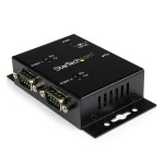 2 PORT IND WALL MOUNT USB-SERIAL ADAPT H
