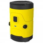 RUGGED WATERPROOF W/LESS SPEAKER YELLOW