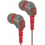 NOISE ISOLATION SPORT EARBUDS (GREY/RED)