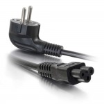 2m CEE 7/7 to IEC 60320 C5 Power Cord