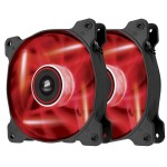 LED Fan AF120-LED RED Dual Pack