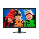 "Philips 23.6"", LED, VGA, DVI-D, HDMI, Tilt, Speake"