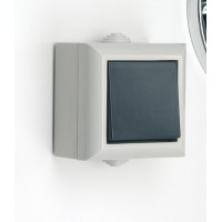 SMJ EP1G2B BlackWhite light switch