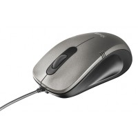 Trust 20404 USB Optical 1000DPI Ambidextrous BlackSilver mice