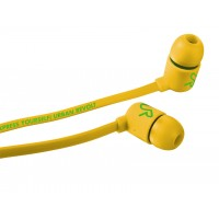 Trust duga in-ear headphone Yellow Intraaural In-ear headphone