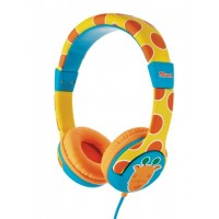 Trust Spila Kids - Giraffe CyanOrangeYellow Head-band headphone