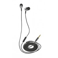 Trust Crystal In-ear Binaural Wired Black mobile headset