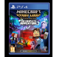 Minecraft Story Mode: The Complete Adventure PS4
