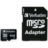 Micro SDHC 8GB Class 4  with adapter