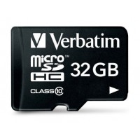 Micro SDHC 32GB - Class 10 with adapter