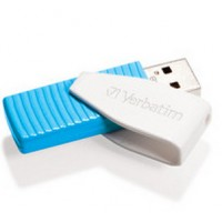 Store 'n' Go Swivel 8GB USB 2.0 Caribbean Blue