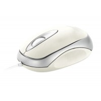 Trust Mini Travel Mouse - White USB Optical White