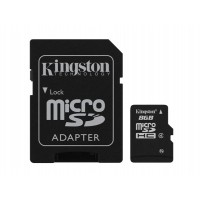 Kingston Technology 8GB microSDHC 8GB MicroSD Flash memory card