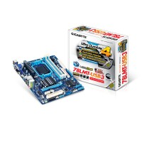 Gigabyte GA-78LMT-USB3 (rev. 4.1) North Bridge: AMD 760G n<br>South Bridge: AMD SB710 Socket AM3+ Micro ATX motherboard