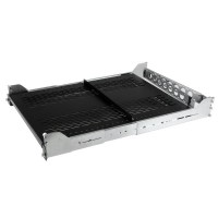 StarTech.com 2U Vented Sliding Rack Shelf w/ Cable Management Arm & Adjustable Mounting Depth - 50lbs / 22.7kg