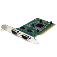 StarTech.com 2 Port PCI RS232 Serial Adapter Card with 16950 UART