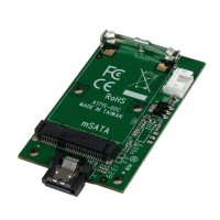 StarTech.com SATA to mSATA SSD Adapter – Port Mounted SATA to Mini SATA Converter Card