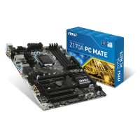 MSI Z170A PC Mate Intel Z170 LGA1151 ATX motherboard